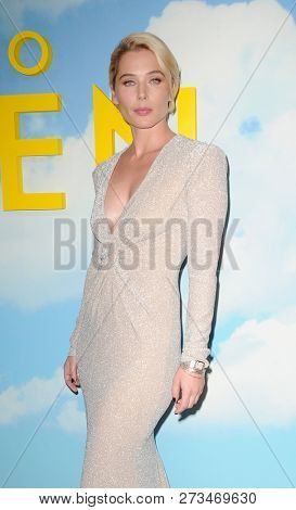 Stefanie von Pfetten at the Los Angeles premiere of 'Welcome To Marwen' held at the ArcLight Cinemas in Hollywood, USA on December 10, 2018.