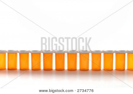 Pill Bottle Row