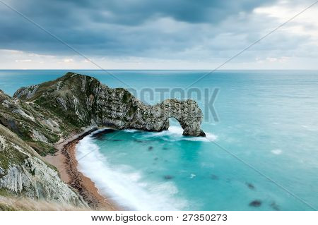 Durdle Door At Dawn
