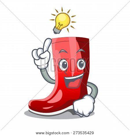 Have An Idea Muddy Farmer Boots Shape The Cartoon