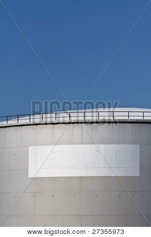 Tank With A Blank Label