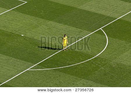 Iker Casillas Outside His Box