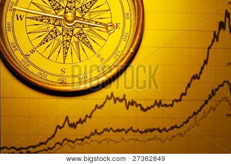 Compass and Stock Chart