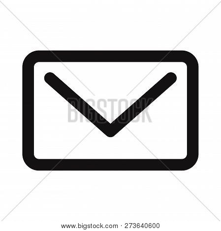 Email Icon Isolated On White Background. Email Icon In Trendy Design Style. Email Vector Icon Modern
