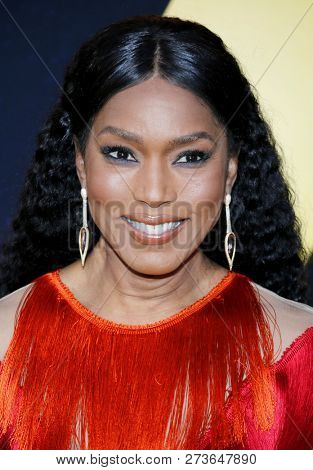 Angela Bassett at the World premiere of 'Bumblebee' held at the TCL Chinese Theatre IMAX in Hollywood, USA on December 9, 2018.