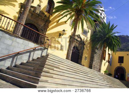 Tropical Spanish Church