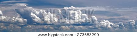 Sky White Clouds Nature Heaven Background Cloudy