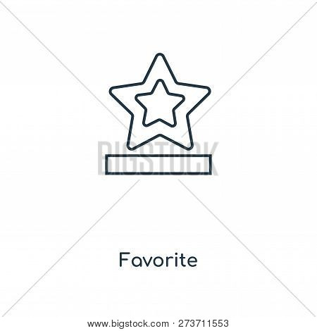Favorite Icon In Trendy Design Style. Favorite Icon Isolated On White Background. Favorite Vector Ic
