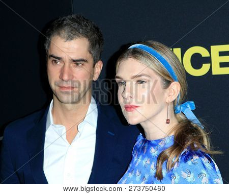 LOS ANGELES - DEC 11:  Hamish Linklater, Lily Rabe at the