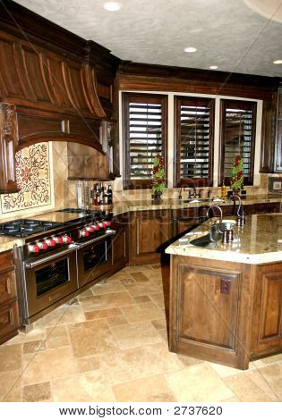 Elegant Custom Kitchen
