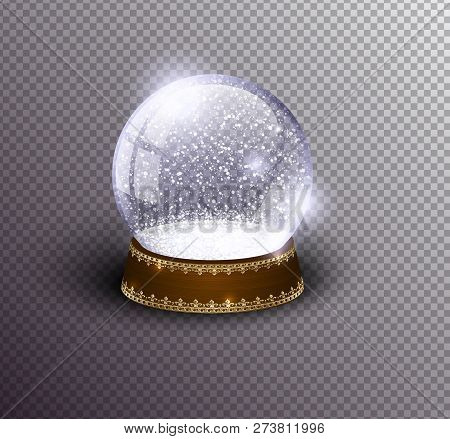 vector snow globe vector photo free trial bigstock