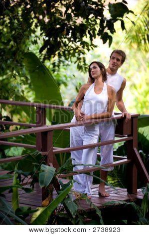 Couple Outside