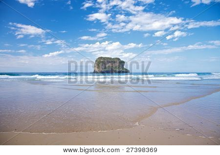 Islet In Ballota Beach