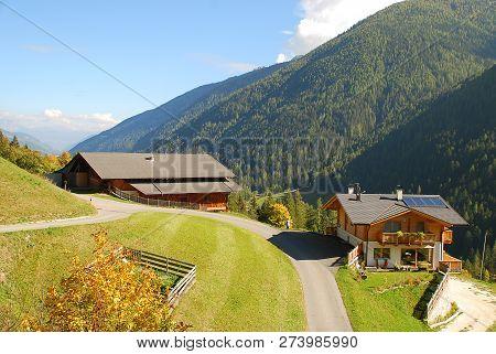 Ultental Valley  (german: Ultental Or Ulten, Italian: Val D'ultimo), South Tyrol, Italy.