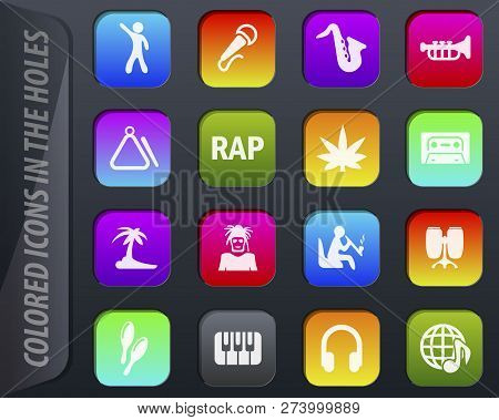 Rap Music Colored Vector & Photo (Free Trial) | Bigstock