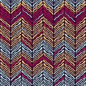 Abstract Ikat and boho style handcraft fabric pattern. Traditional Ethnic design for clothing and textile background, carpet or wallpaper poster