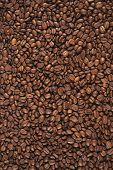 coffee beans background poster