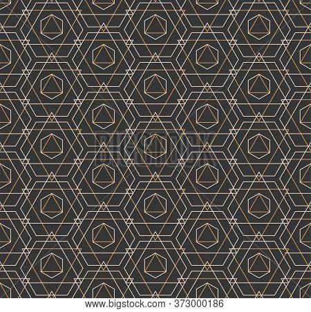 Repetitive Elegant Graphic Luxury, Background Pattern. Repeat White Vector Web Decoration Texture. C