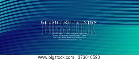 Blue Dynamic Wave. Fluid Abstract Design. Color Geometric Shape. Dynamic Wave. Memphis Texture. Flow