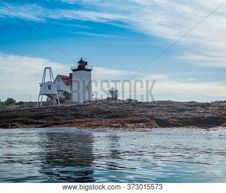 Hendricks Head Lighthouse By Kayak, Southport, Maine