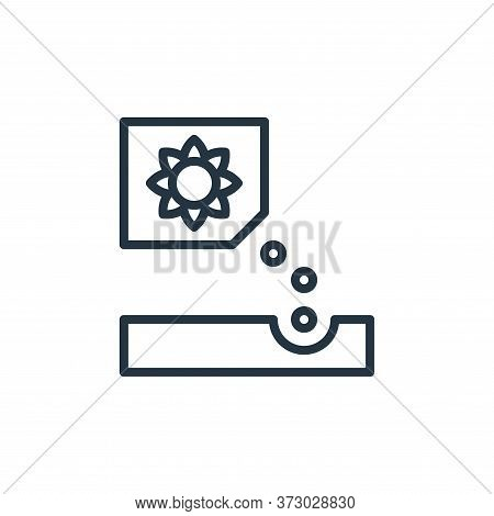 planting icon isolated on white background from  collection. planting icon trendy and modern plantin
