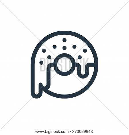 doughnut icon isolated on white background from  collection. doughnut icon trendy and modern doughnu
