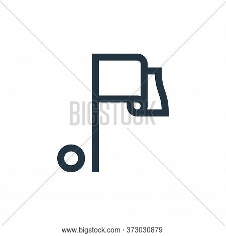 flag icon isolated on white background from  collection. flag icon trendy and modern flag symbol for