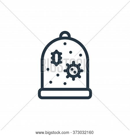 quarantine icon isolated on white background from  collection. quarantine icon trendy and modern qua