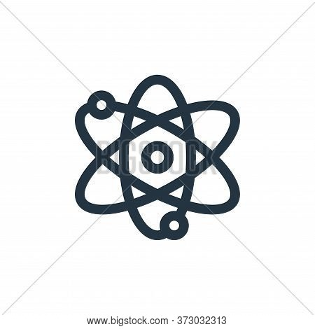 atoms icon isolated on white background from  collection. atoms icon trendy and modern atoms symbol
