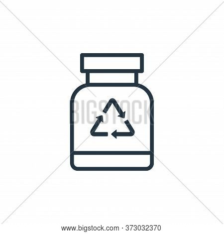 bottle icon isolated on white background from  collection. bottle icon trendy and modern bottle symb