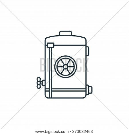 nuclear energy icon isolated on white background from  collection. nuclear energy icon trendy and mo