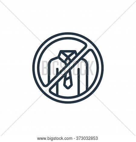 no work icon isolated on white background from  collection. no work icon trendy and modern no work s