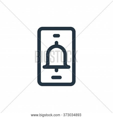 alarm icon isolated on white background from  collection. alarm icon trendy and modern alarm symbol