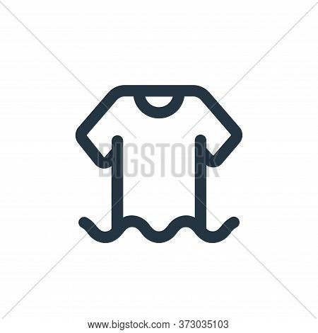 clothes icon isolated on white background from  collection. clothes icon trendy and modern clothes s