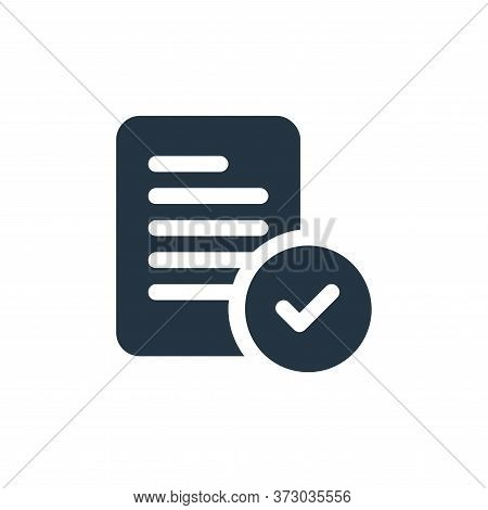 check icon isolated on white background from  collection. check icon trendy and modern check symbol