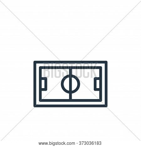 football icon isolated on white background from  collection. football icon trendy and modern footbal