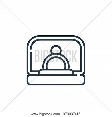 Proposal Vector Icon Isolated On White Background.