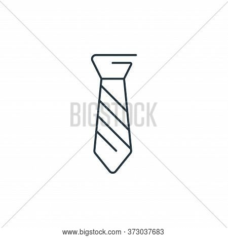 necktie icon isolated on white background from  collection. necktie icon trendy and modern necktie s