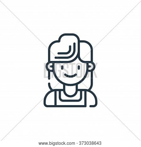 mother icon isolated on white background from  collection. mother icon trendy and modern mother symb