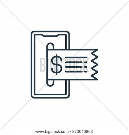 online payment icon isolated on white background from  collection. online payment icon trendy and mo