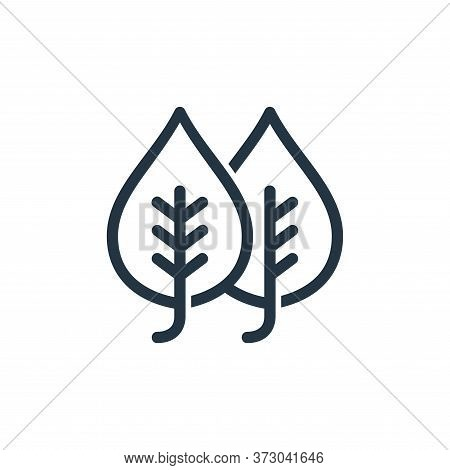 plant leaf icon isolated on white background from  collection. plant leaf icon trendy and modern pla