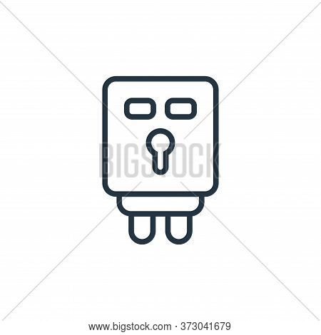 electronic utensil icon isolated on white background from  collection. electronic utensil icon trend