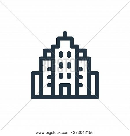 buildings icon isolated on white background from  collection. buildings icon trendy and modern build