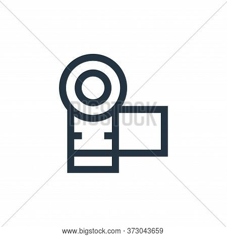 camera icon isolated on white background from  collection. camera icon trendy and modern camera symb