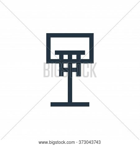 basketball ball icon isolated on white background from  collection. basketball ball icon trendy and