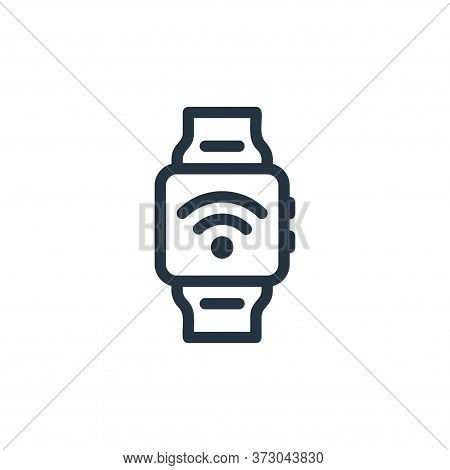 smartwatch icon isolated on white background from  collection. smartwatch icon trendy and modern sma