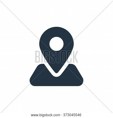 locator icon isolated on white background from  collection. locator icon trendy and modern locator s