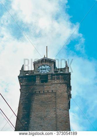 Darjeeling Clock Tower - Ancient Clock Tower Of Darjeeling Main City From North India