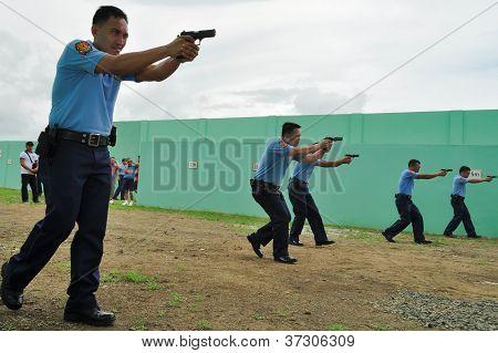 Firearm shooting practice