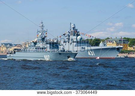 Saint Petersburg, Russia - July 25, 2019: